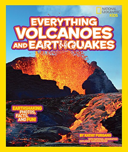 Compare Textbook Prices for National Geographic Kids Everything Volcanoes and Earthquakes: Earthshaking photos, facts, and fun  ISBN 9781426313646 by Furgang, Kathy