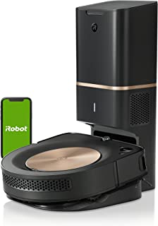iRobot® Roomba® s9+ connected Robot Vacuum with Automatic Dirt Disposal - PerfectEdge® Technology with Corner Brush - Lear...