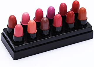 MNTT 12pcs/Set Fashionable Colors Waterproof Kiss Proof Lipstick Long Lasting Matte Lipgloss Natural Sexy Lip Resistant To Discoloration