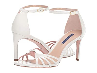 Stuart Weitzman Sena 75 (Cream/Buff Blush Shine Calf) Women