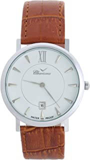 Charisma Casual Watch for MenLeather Band, Analog, C6753