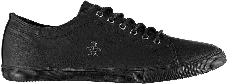Original Penguin Brewton PU Trainers Mens Athleisure Footwear shoes Sneakers