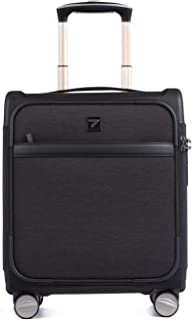 Carry on Business Suitcase Lightweight Underseat Cabin Luggage 16 inch Black