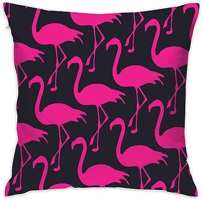 Amazon.com: NEHomer Red Flamingo Christmas Hold Pillow Home ...