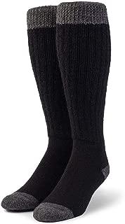 Unisex Colorblock Long John Alpaca Wool Socks