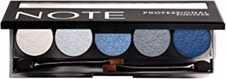 Note Cosmetics Professional Eyeshadow 01 Pro 2 Gramsx5