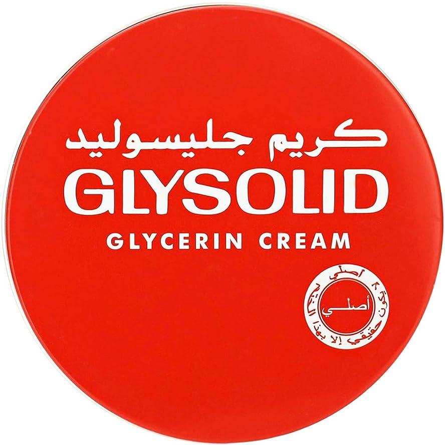 すでに圧縮された感心するGlysolid Cream Face Moisturizers For Dry Skin Hands Feet Elbow Body Softening With Glycerin Keeping Your Skin Soft Healthy And Smooth (250 ml)