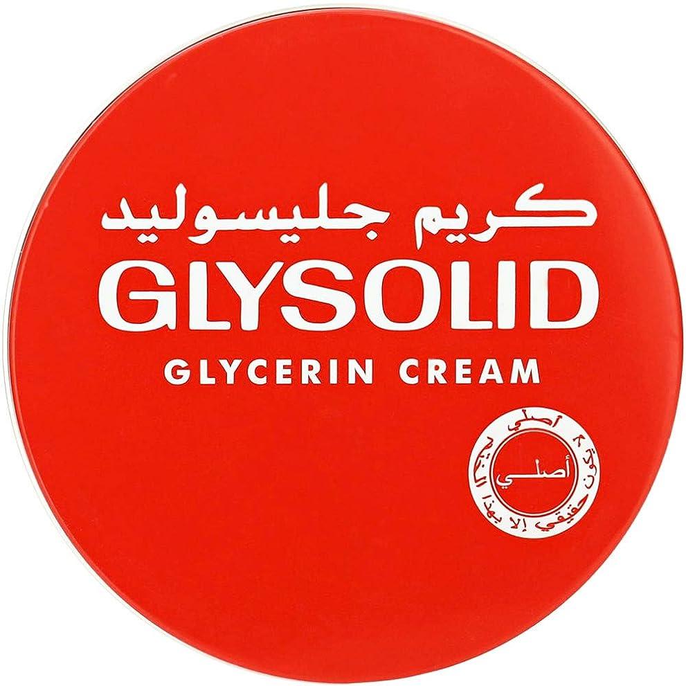 ネズミ議題ジャズGlysolid Cream Face Moisturizers For Dry Skin Hands Feet Elbow Body Softening With Glycerin Keeping Your Skin Soft Healthy And Smooth (250 ml)