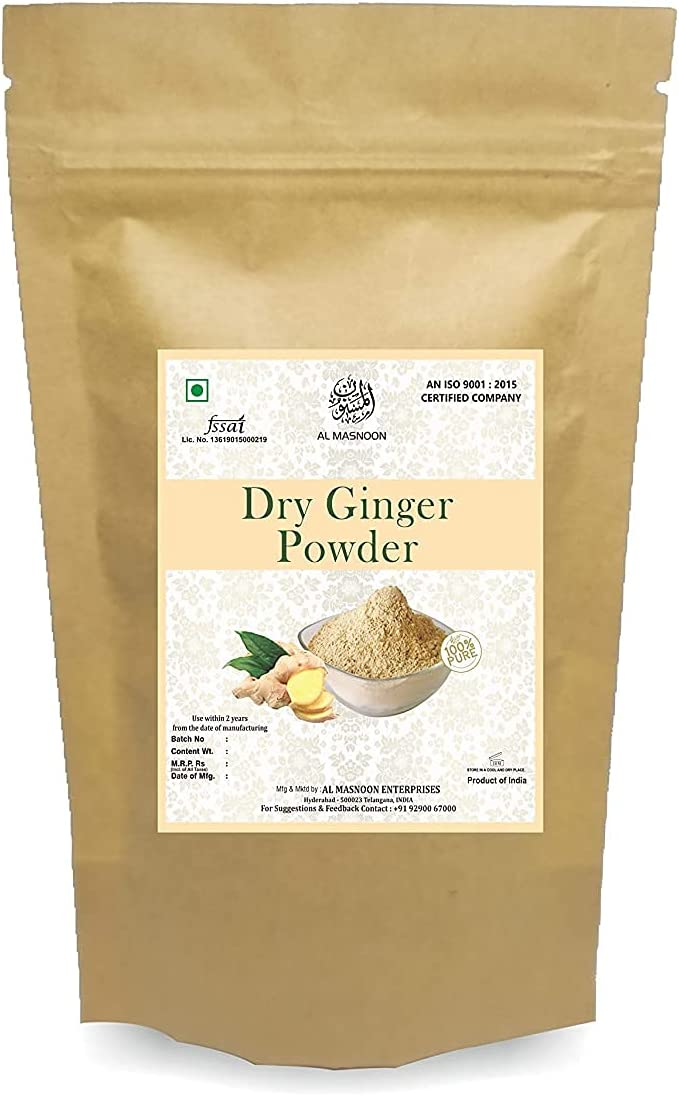 A.I.M.AL MANSOON Dry Ginger Powder in Rich Natural Aroma Max 78% OFF 2021new shipping free shipping 100%