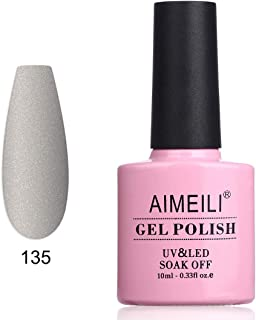 AIMEILI Soak Off UV LED Matte Gel Nail Polish - Senecio Cineraria (135) 10ml