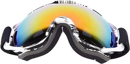 Bergsklättringsglasögon, Skidglasögon, Tryckt ram Dubbelskikt Anti-dimma Stora Skidglasögon Män Kvinnor Universal MSD74W