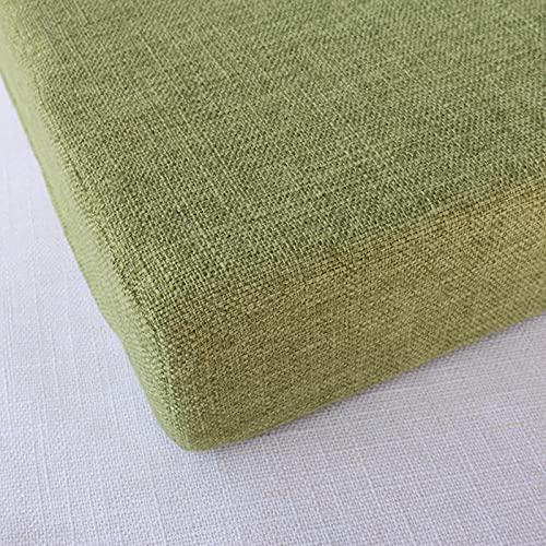 Waigg Kii Cojines de silla cojines cojines cojines de asiento de 45 x 45 cm, 50 x 50 cm, cojines acolchados para silla, cojines para interior y exterior, comedor, jardín
