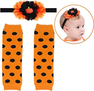 Elesa Miracle Cozy Soft Baby Toddler Leg Warmers and Headband Set