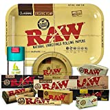 Bandeja para liar RAW 27,5cm x 17,5cm + Cenicero RAW + Bote Antiolor THE BOAT +...