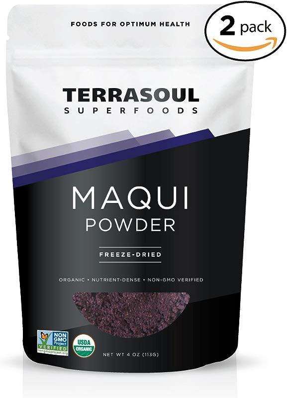 Terrasoul Superfoods Organic Maqui Berry Powder 8 Ounces