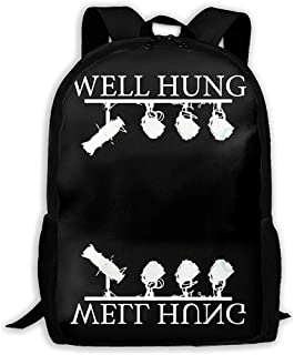 LIMING Unisex Adult Backpack Well Hung Bookbag Travel Bag Schoolbags Laptop Bag For Men And Women