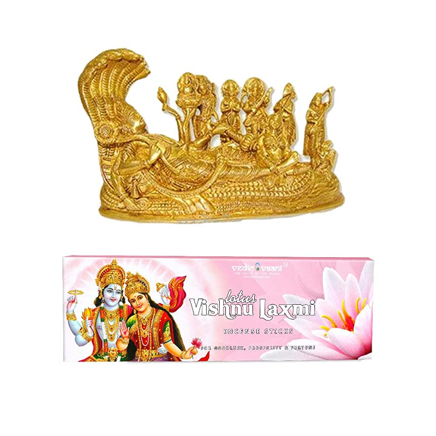合図ウェイトレスつまずくVedic Vaani Vishnu Pariwar with Vishnu Laxmi お香スティック