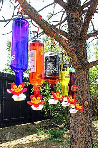 Comedero automático para colibrí: convierte tus propias botellas recicladas en el mejor comedero de Hummingbird de cristal, colibrí de comedero, herramientas de alimentación