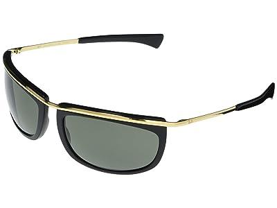 Ray-Ban RB2219 Olympian Aviator Sunglasses 59 mm Polarized