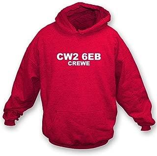 CW2 6EB Crewe Hooded Sweatshirt Crewe Alexandra
