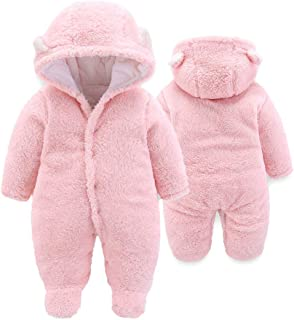 Unisex Baby Cloth Winter Coats Cute Newborn Infant Jumpsuit Snowsuit Bodysuits