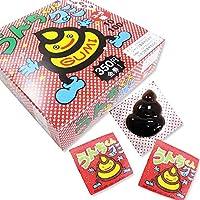 グミ系の駄菓子 ジャック うんちくんグミ コーラ味(100+金券分35個)