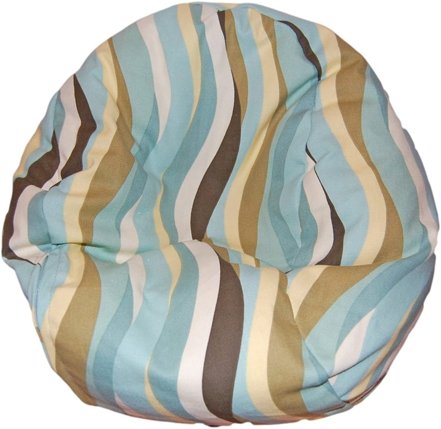 Ahh  Products Wavelength Lake Bean Bag Chair for Dolls