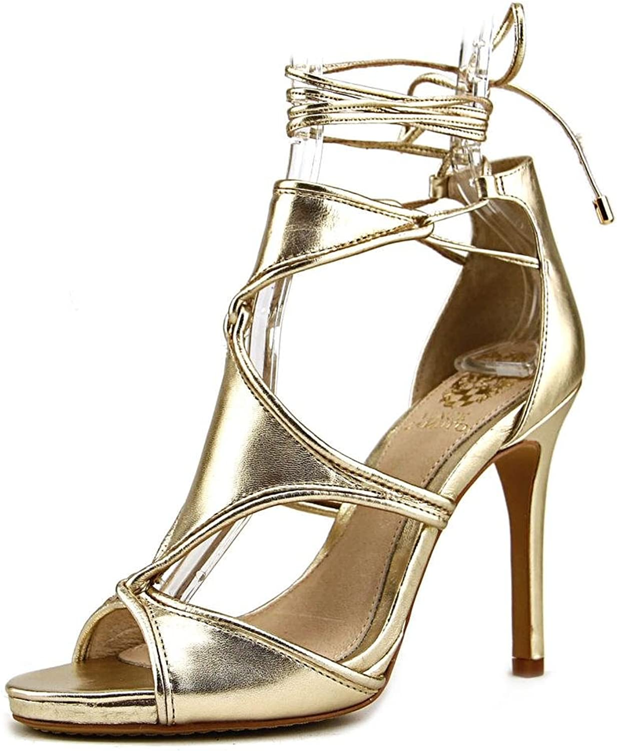 Vince Camuto Rae Women US 6.5 gold Sandals