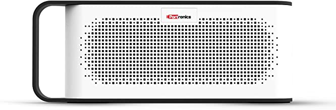 Portronics SoundGrip POR-775 Rechargeable Portable Bluetooth Wireless Stereo Speaker (Gray)