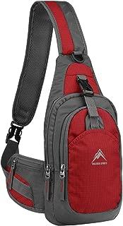 Sling Bag, Shoulder Backpack Chest Pack Causal Crossbody Daypack for Women Men