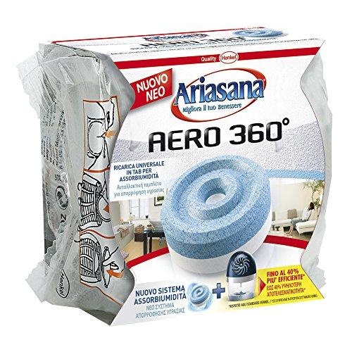 Ariasana, 1680991, Ricarica Tab Inodore per kit Aero 360, 450 g