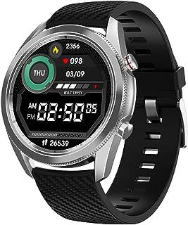 DT91 Heren Smart Horloge Bluetooth Call ECG Hartslag Monitor Fitness Tracker SmartWatch voor iOS Android-telefoon versus D...