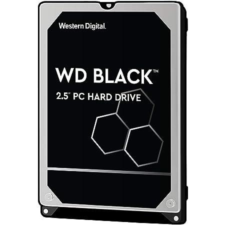 Western Digital HDD 1TB WD Black ゲームPC 2.5インチ 内蔵HDD WD10SPSX-EC 【国内正規代理店品】