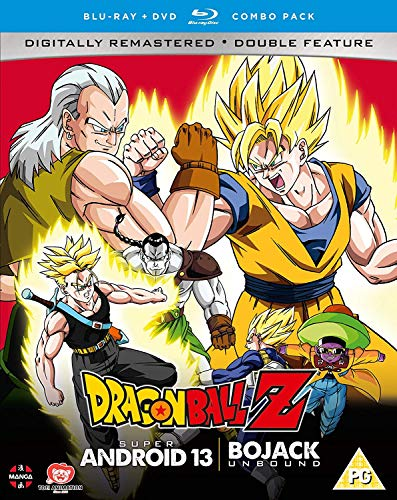 Dragon Ball Z Movie Collection Four: Super Android 13!/Bojack Unbound - DVD/Blu-ray Combo [UK Import]