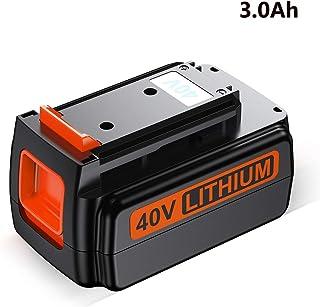 FirstPower 40V 3.0Ah Battery - Compatible for Black + Decker 40 Volt Lithium Ion Battery - Black&Decker 40V Cordless Drills Power Tools LBX2040 LBX36 LBXR36 LBXR2036