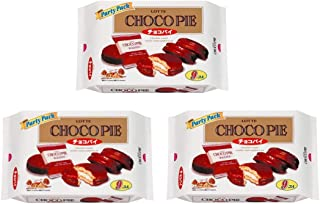 【3袋セット】ロッテ チョコパイパーティーパック 9個入