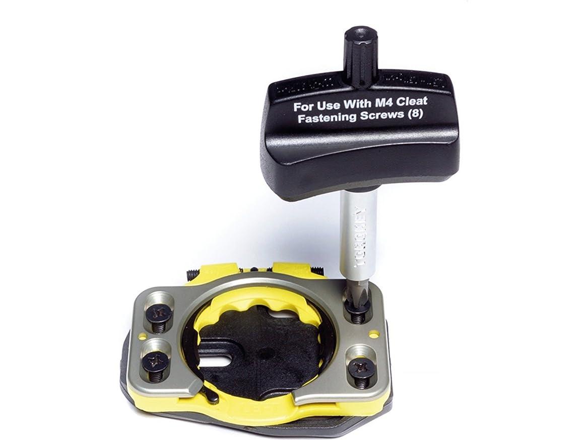 再生的仕方冒険SPEEDPLAY(スピードプレイ) TORQUE WRENCH- FOR M4 CLEAT FASTENING SCREW(トルクレンチ M4クリートファスニングスクリュー用) 0905-61-14095