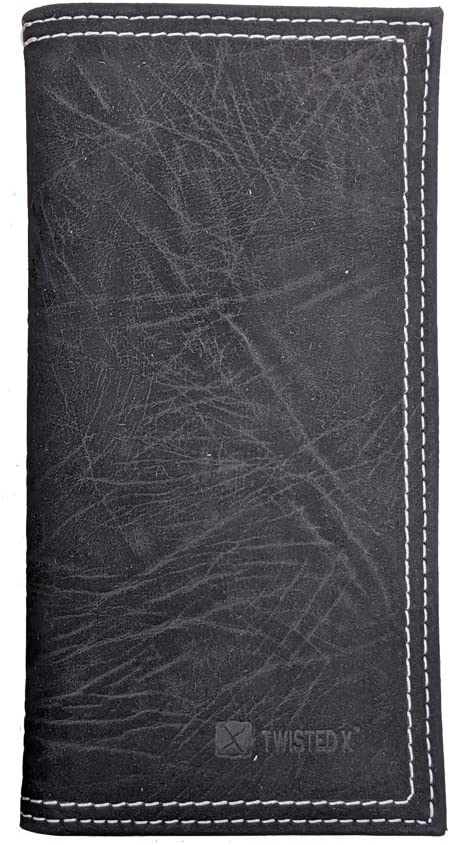 Twisted X Rodeo Black Elephant Stamped Wallet