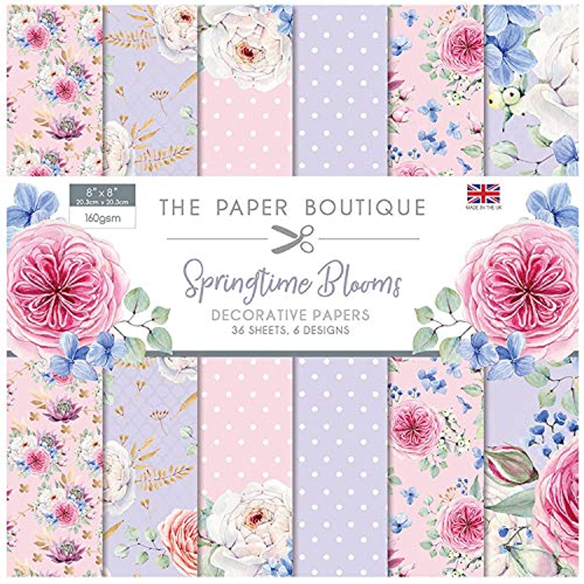 The Paper Boutique The Springtime Blooms 8