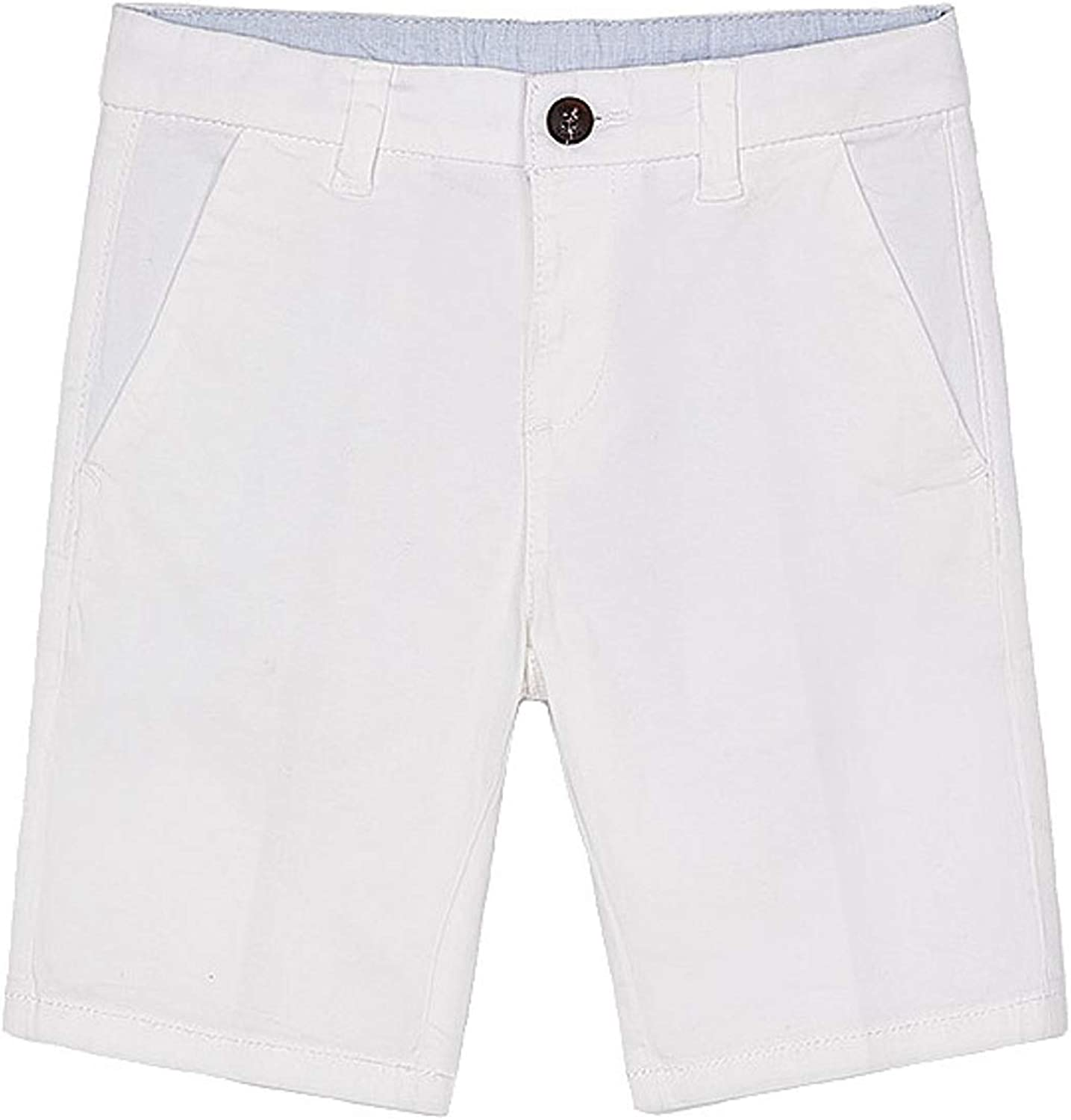 Mayoral - Basic Twill 35% OFF Chino Shorts White Max 55% OFF Boys for 0202