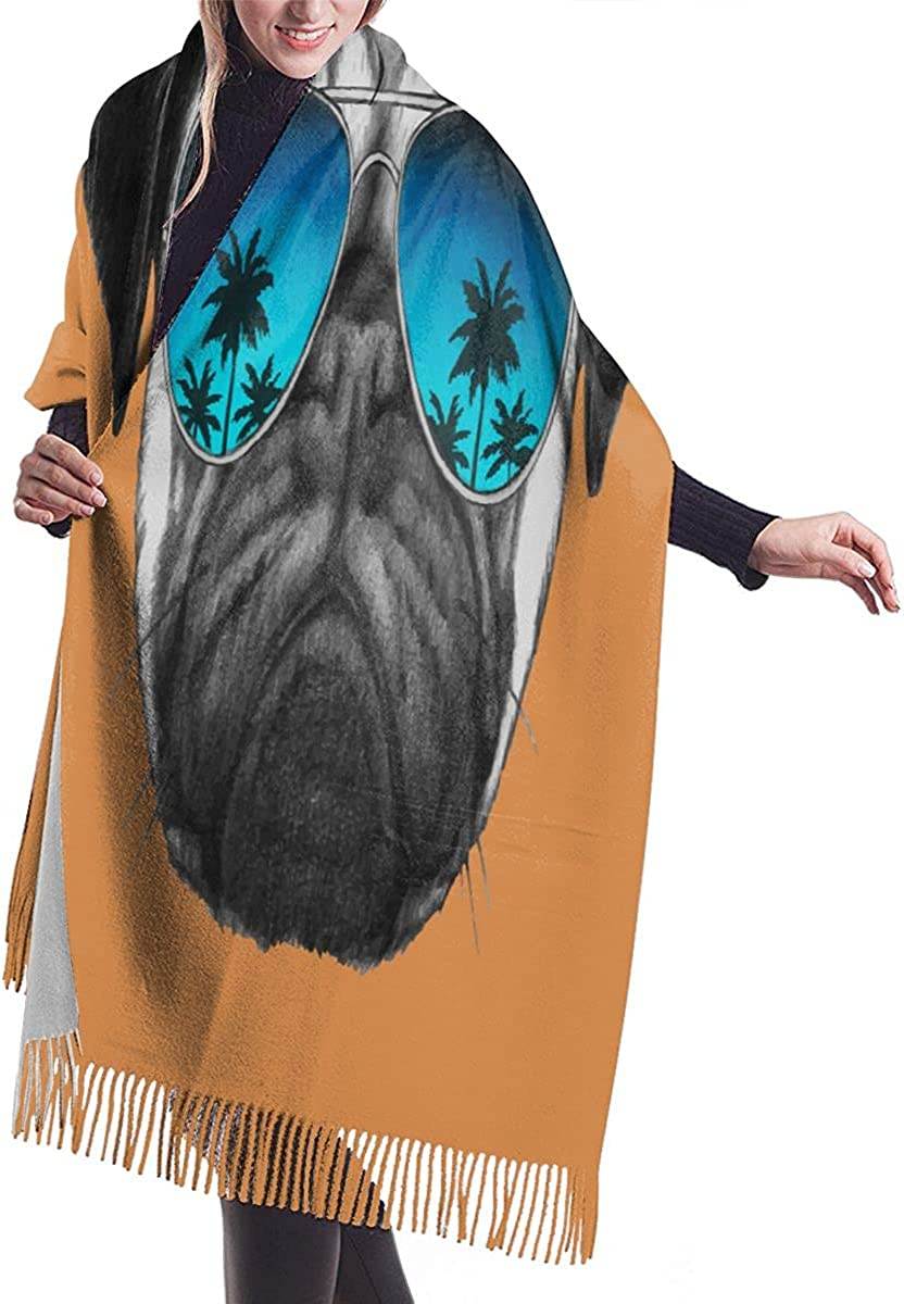 Pashmina Scarfs Shawls Wraps for Women Pretty Purple And Teal Galaxy Universe Print Beautiful Cashmere Scarves Large