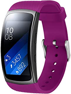 Aresh Compatible with Samsung Gear Fit2 Pro/Gear Fit2 Band, Replacement Bands Accessories for Samsung Gear Fit2 /Fit2 Pro Watch (5.9