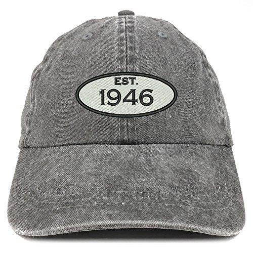 Established 1946 Embroidered Hat - 9 Colors