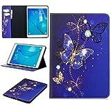 Funda Cartera para Samsung Galaxy Tab A 9.7' SM-T550 con Varios Compartimentos para Tarjetas,Cambios