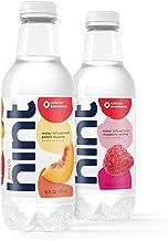 16 oz Hint Water Peach & Raspberry Bundle (24 Pack) - 12 Pack Pure Water Infused with Peach and 12 Pack Pure Water Infused...
