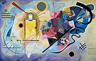 Yellow Red Blue 1925 Wassily Kandinsky Abstract Contemporary Poster (Choose Size of Print)