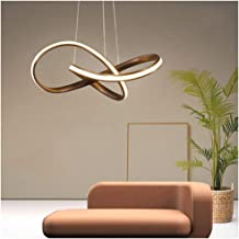 Kitchen Simple Modern Chandelier Creative Restaurant Ceiling Light Study Personality Pendant Light Aluminum Led Hang Lamp