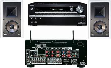Klipsch KL-7800-THX In-Wall (Pair)-Onkyo TX-NR838 7.2 Channel- White