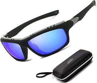 258036d4b9 Perfectmiaoxuan Gafas de Sol polarizadas para Hombre Mujer/Golf de Pesca  Fresco Ciclismo El Golf