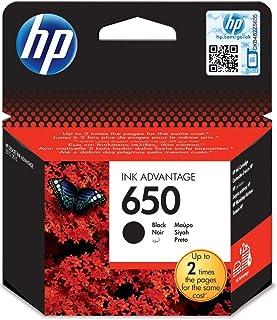 HP 650 Black Original Ink Advantage Cartridge - CZ101AK